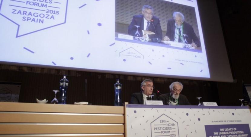 Aragón quiere ser referente innovación y cooperación luchar lindano