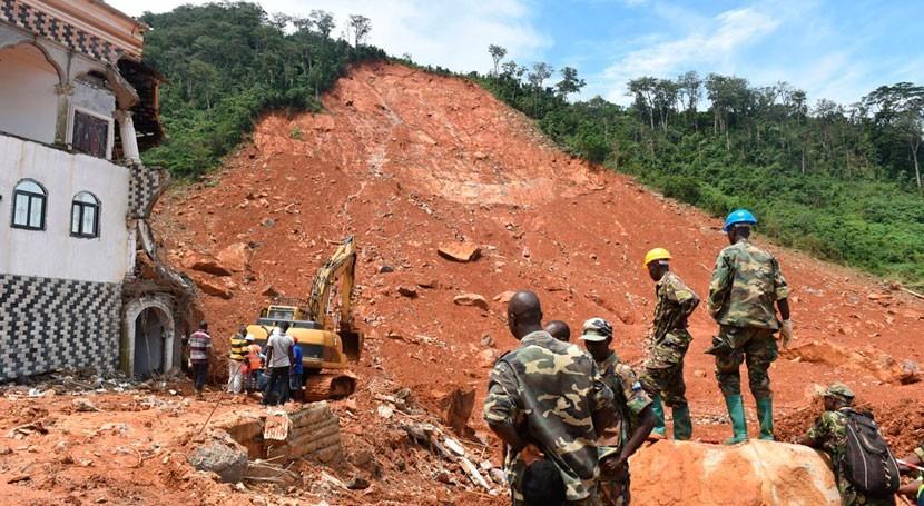 Prevenir propagación enfermedades, prioridad inundaciones Sierra Leona