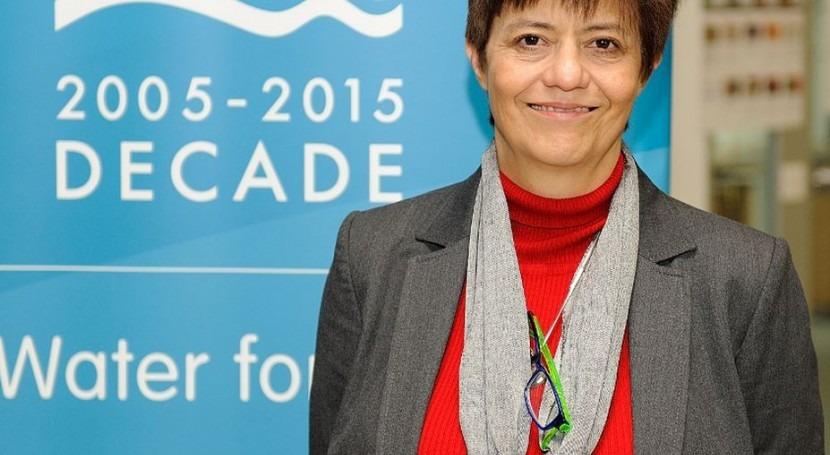 "Blanca Jiménez Cisneros: "" agua no está mejor; al contrario, está cada vez peor"""