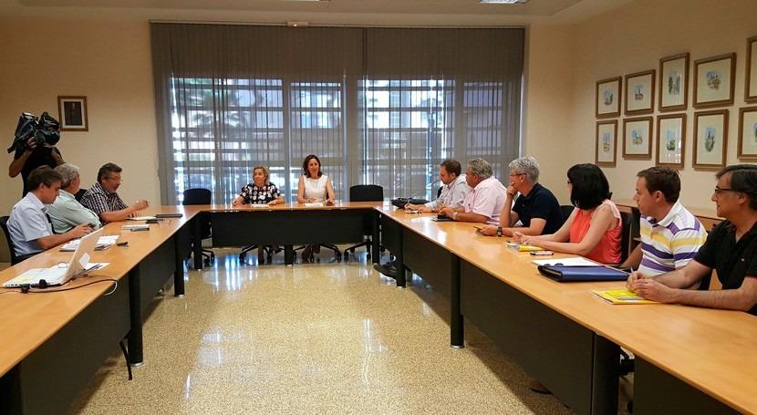 Murcia y sector agrario tratan nueva orden contaminación nitratos