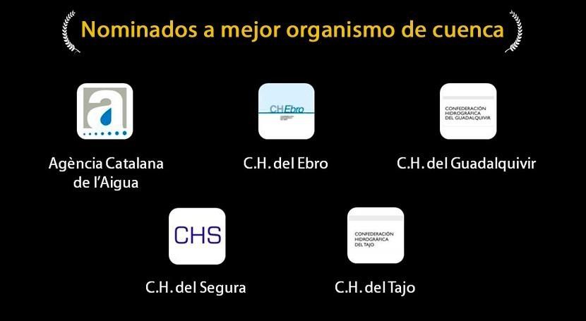 Organismos de Cuenca nominados a los premios iAgua 2014