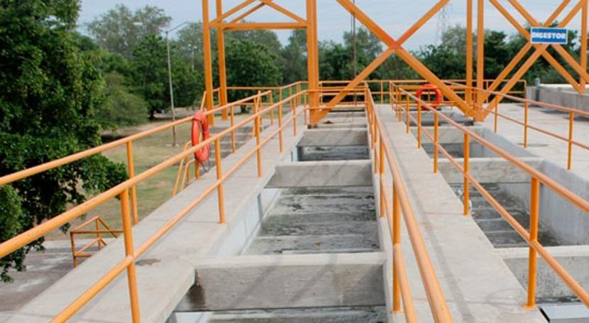 Desarrollan técnica ozonización tratamiento aguas residuales