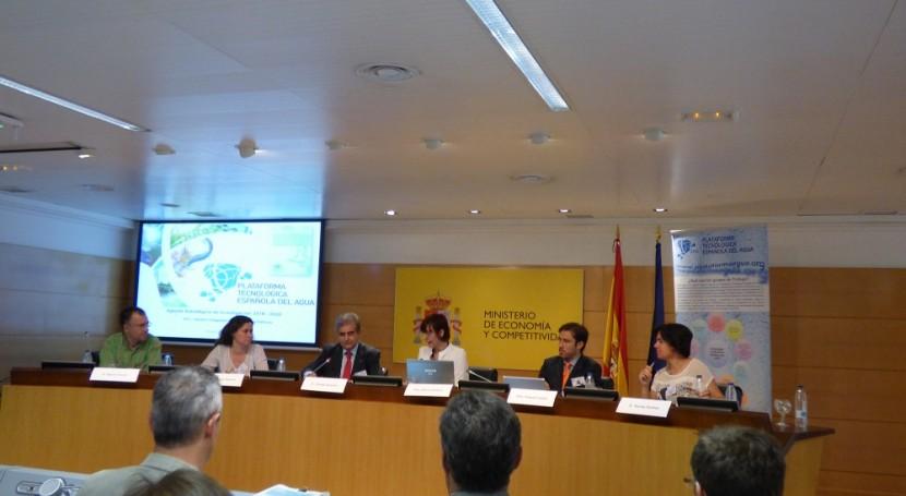 Nueva Agenda Estratégica Investigación Plataforma Tecnológica Española Agua