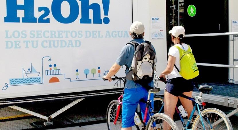 """37.000 personas visitan exposición """"¡H2Oh! secretos agua tu ciudad"""" Alicante"""