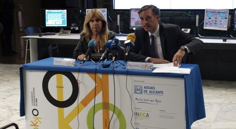 Aguas Alicante presenta primer Congreso Internacional RSE que se celebrará Alicante