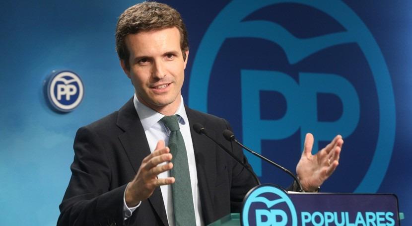 Casado propone Pacto Nacional Agua 20.000 millones euros presupuesto
