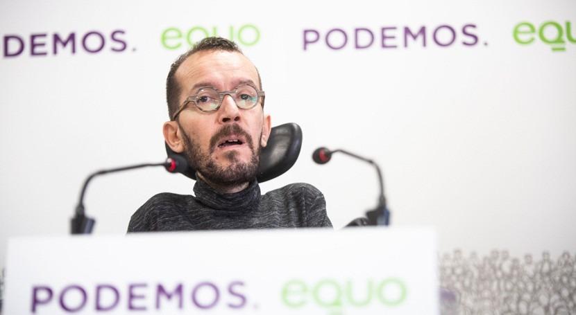 Podemos propone revertir toda gestión privada agua España próxima legislatura