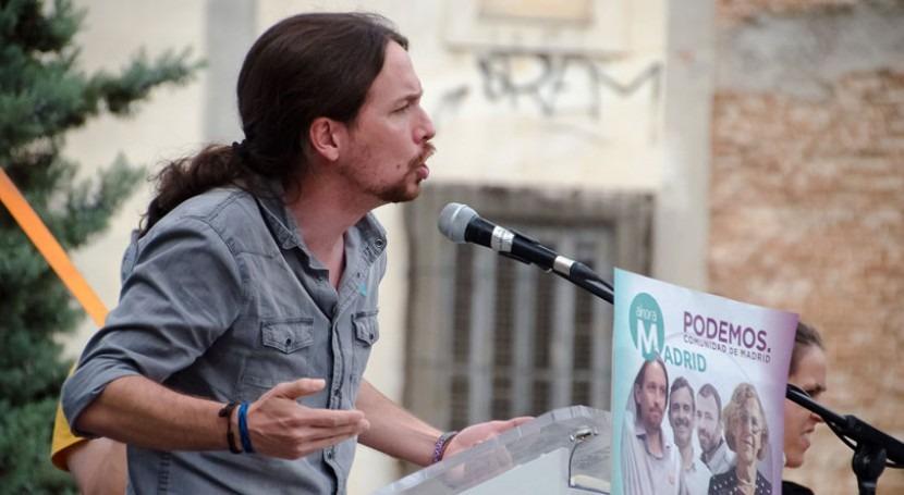 Podemos aprovecha operación Canal ofrecer PSOE y Cs moción censura Madrid