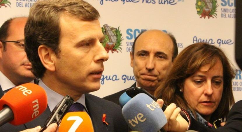 """Pablo Saavedra: """" agua no puede ser instrumento político"""""""