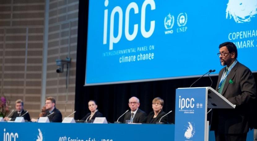 R.K. Pachauri, Presidente del IPCC