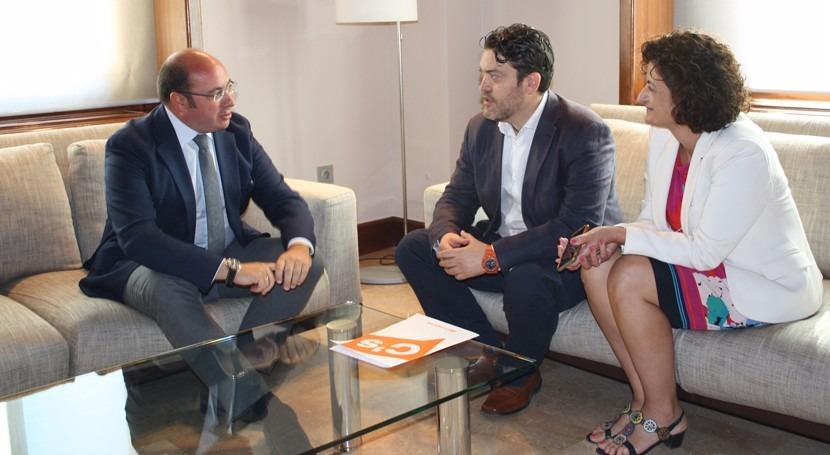 Fijadas primeras reuniones avanzar Pacto Regional Agua Murcia