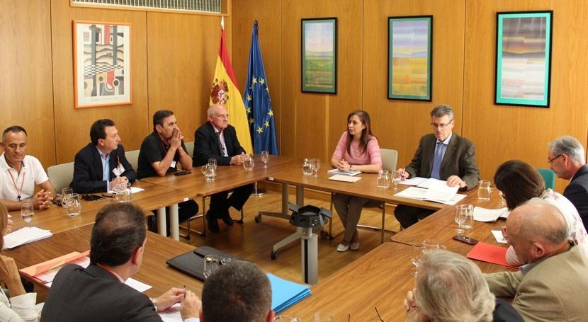 aguas subterráneas centran última reunión MAPAMA Pacto Nacional Agua