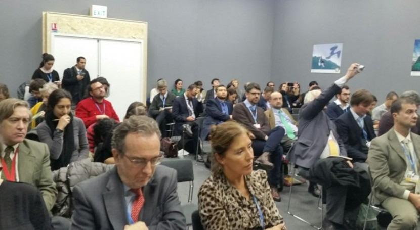 Galicia se sumaal primer Pacto agua y cambio climático acordado COP21