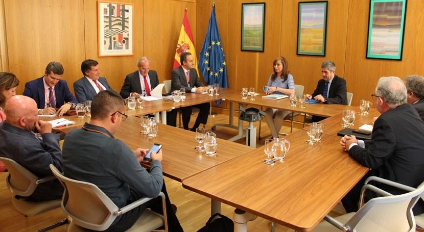 Reunión asociaciones empresariales marco Pacto Nacional agua