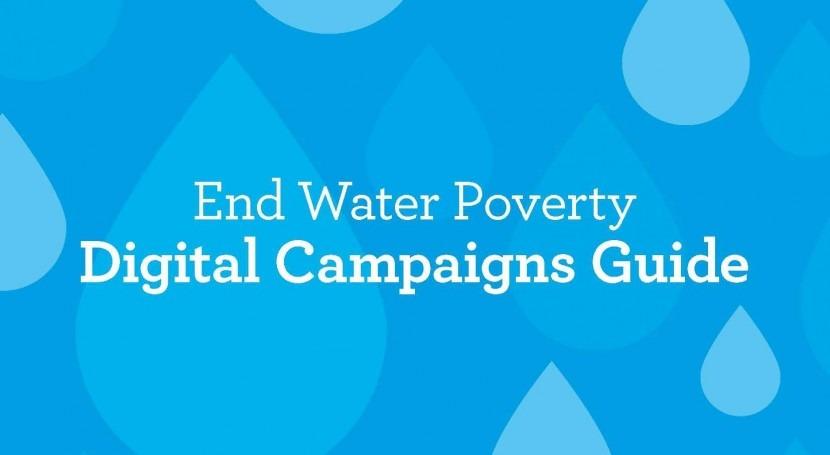 Guía realizar campañas digitales agua, saneamiento e higiene