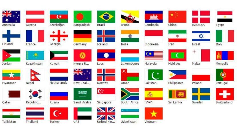 Potenciales países miembro fundadores del Banco (AIIB).