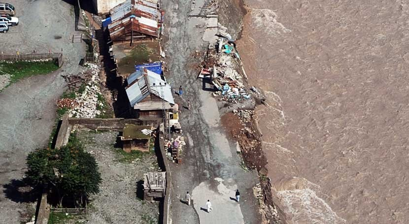 deslizamiento tierra durante lluvias monzónicas provoca siete fallecidos Pakistán