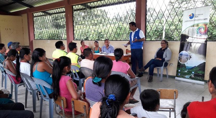 Ecuador entrega responsabilidad jurídica Junta Agua Pamiwa Kucha