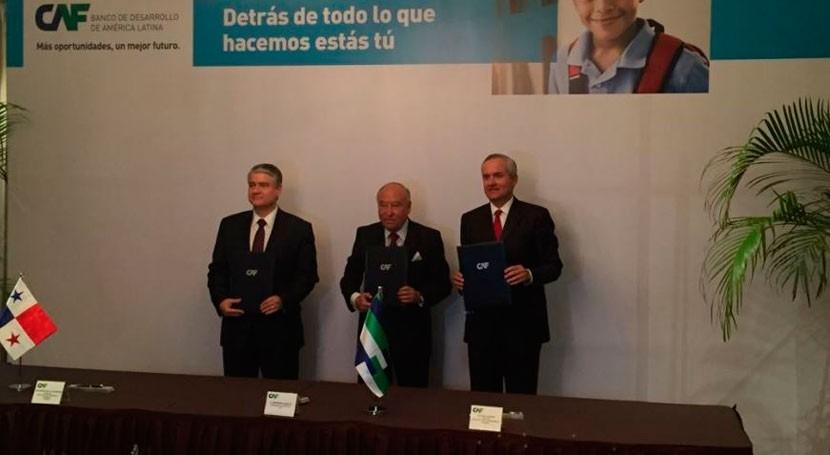 Panamá mejorará educación técnica y gestión agua gracias CAF