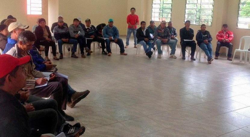 DAPSAN promueve creación coordinadoras agua y saneamiento Concepción, Paraguay