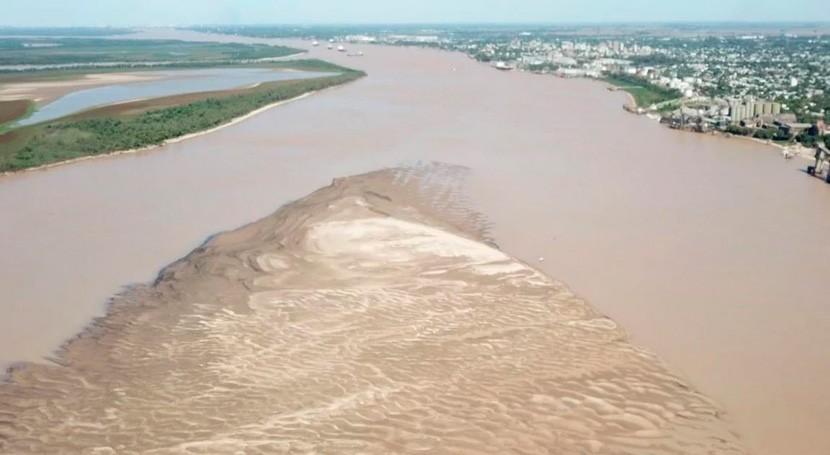 río Paraná, viejo conocido que ahora está serios problemas