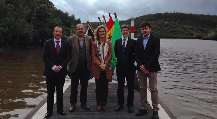 Parque Natural Tajo Internacional protagoniza actos Día Europa EURORACE