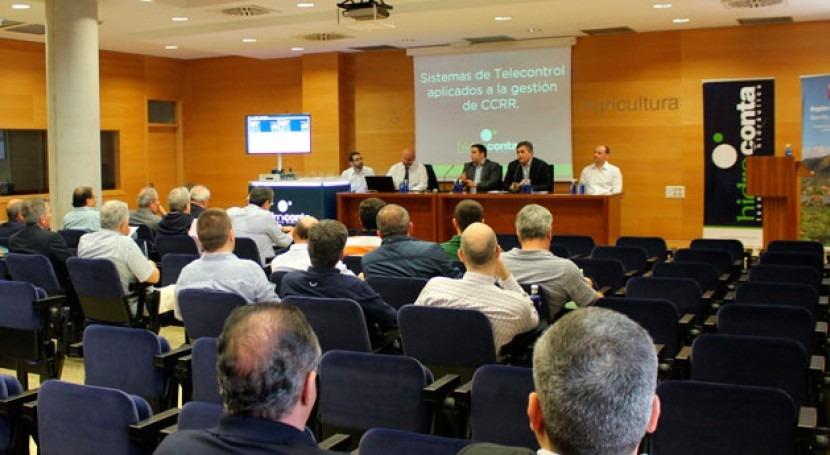 comunidades regantes Murcia se benefician sistemas telecontrol