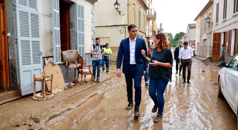 fuertes inundaciones Mallorca dejan 5 fallecidos y al menos 5 personas desaparecidas