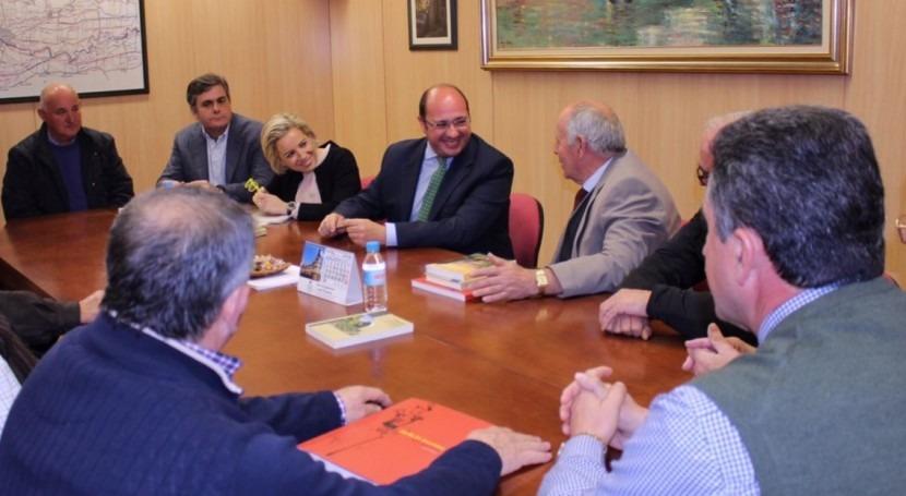"""Pedro Antonio Sánchez: """"Estamos pasando situación sequía cuidados paliativos"""""""