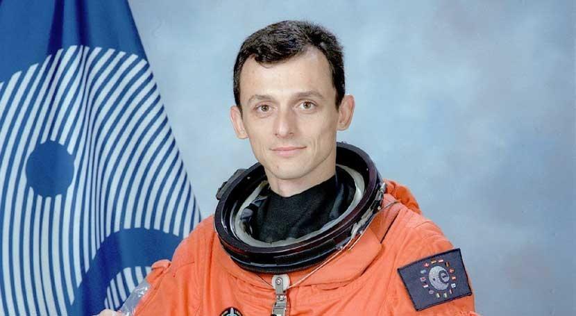 Pedro Duque celebra hallazgo agua Marte