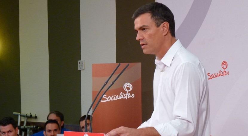 Pedro Sánchez apuesta recuperar Ministerio Medio Ambiente y prohibir fracking
