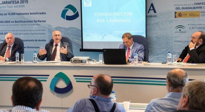 Pedro Rodríguez, director Aljarafesa, elegido unanimidad Presidente ASA-Andalucía