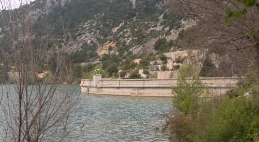 CHE licita implantación plan emergencia embalse Pena, Valderrobles, Teruel