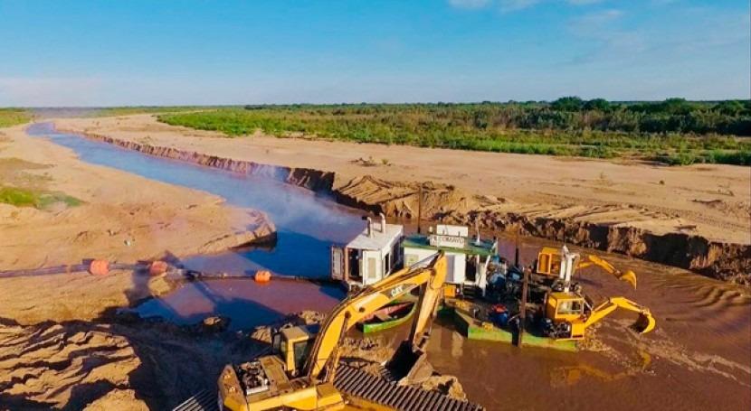 Se prevé que obras río Pilcomayo empiecen esta semana