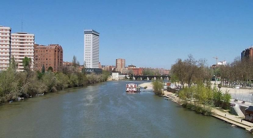 Río Pisuerga (Wikipedia/CC).
