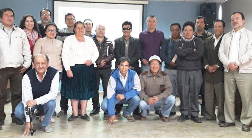 Diversas comunidades participan actualización Plan Nacional Riego Ecuador