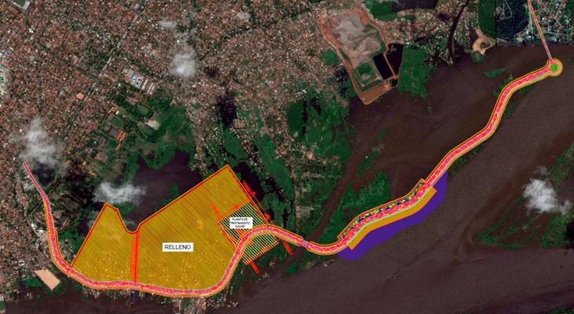 Paraguay encara soluciones inundaciones proyectos Costanera Norte y Sur