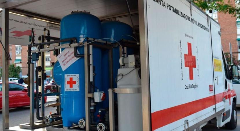 Badajoz y Cruz Roja garantizarán abastecimiento agua situaciones emergencia