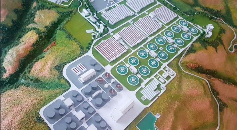 Planta Tratamiento Aguas Residuales Vindobona, cada vez más cerca