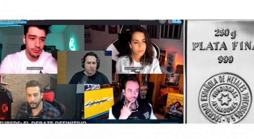Plata, youtubers y agua