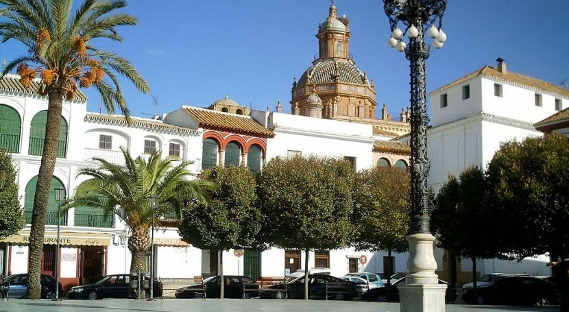 Plaza de Arriba en Carmona