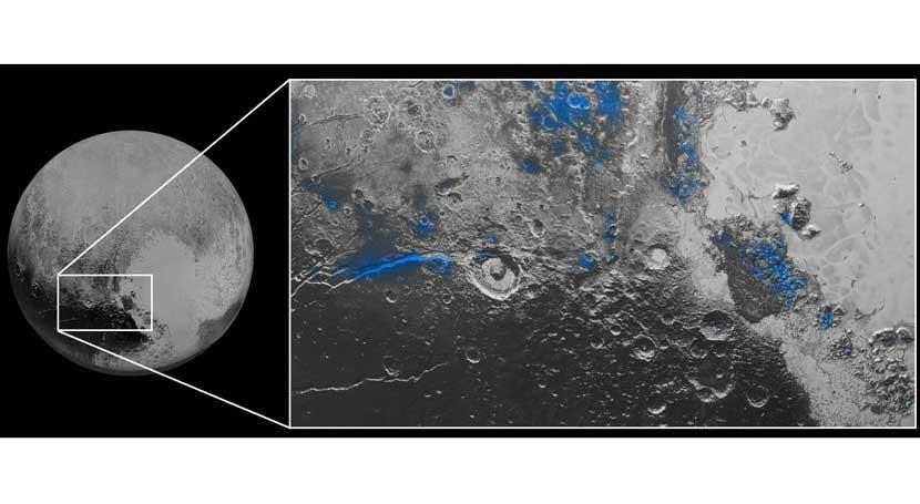 New Horizons encuentra agua helada y cielos azules Plutón