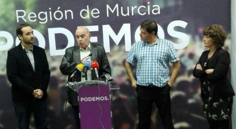 Podemos: agua es bien público y lucharán garantizar consumo toda ciudadanía