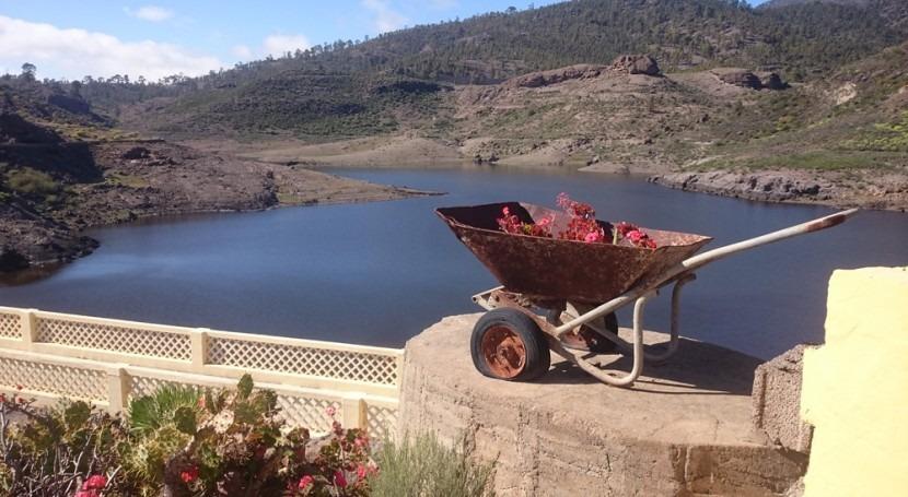 Visita Niñas, presa más conocida #Canarias #GranCanaria