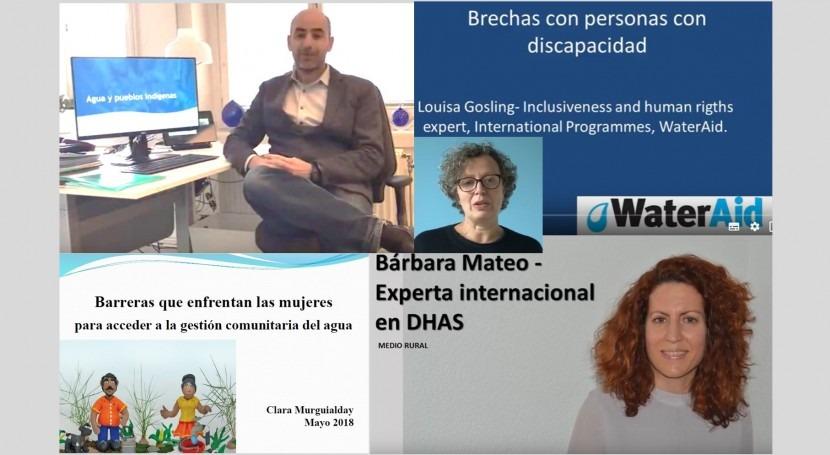 ¿Quiénes están quedando atrás ODS6? 3 vídeos y presentación
