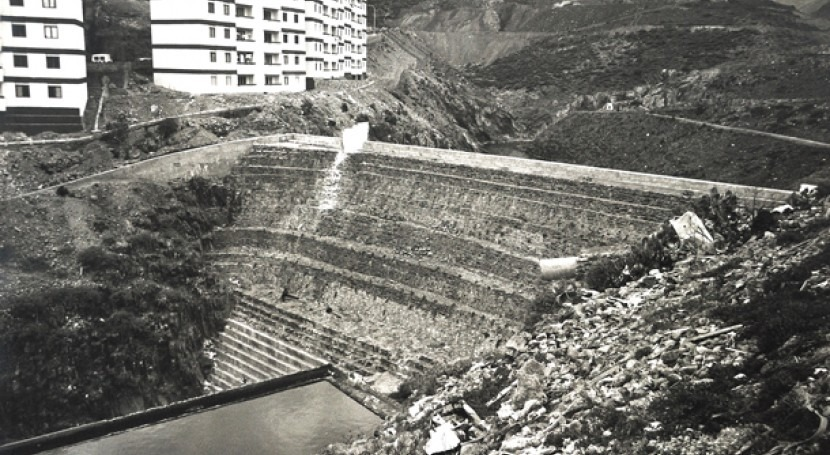 Patrimonio arqueológico agua #GranCanaria: Presas Rosario