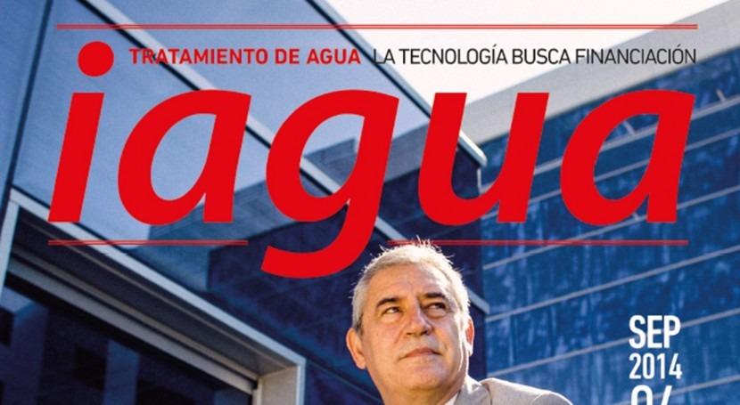 Félix Parra, director general de FCC Aqualia, es la portada del cuarto número de iAgua MagazineFélix Parra, director general de FCC Aqualia, es la portada del cuarto número de iAgua Magazine