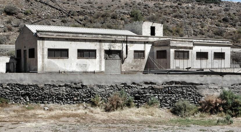 destrucción constructiva Pozo Ciel Tirajana: museo ruinas