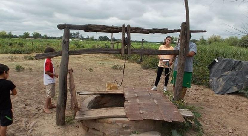 Pozo en Tucumán donde se aisló la bacteria resistente al arsénico. FOTO: AGENCIA CYTA/INSTITUTO LELOIR