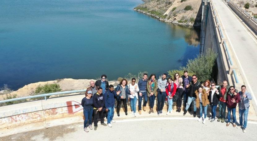 Casa Agua Santomera, base pruebas prácticas drones UPCT